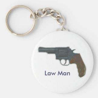 Llavero del hombre de la ley