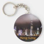 Llavero del horizonte de Hong Kong