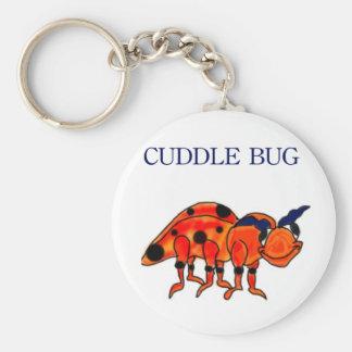 Llavero del insecto de la abrazo