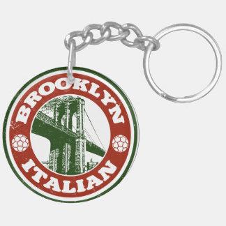 Llavero del italiano de Brooklyn