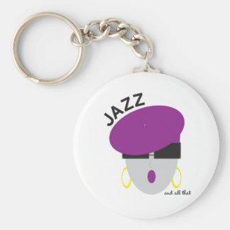 """Llavero del """"jazz"""" de AnabelNY"""