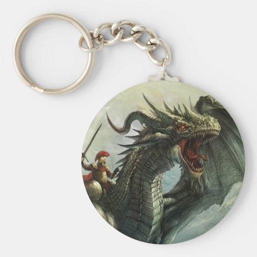 Llavero del jinete del dragón