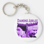 Llavero del jubileo de diamante de la reina Elizab