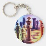 Llavero del juego de ajedrez