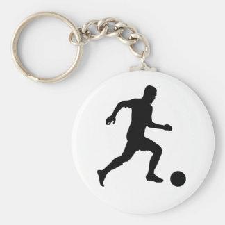 Llavero del jugador de fútbol