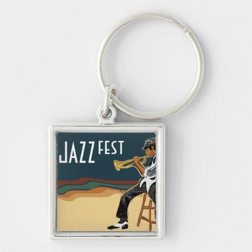 Llavero del jugador del jazz
