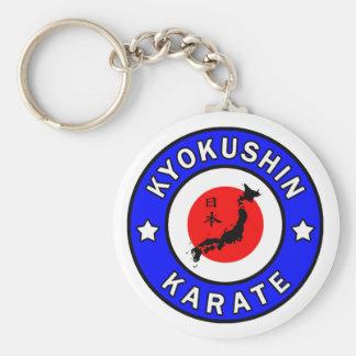 Llavero del karate de Kyokushin
