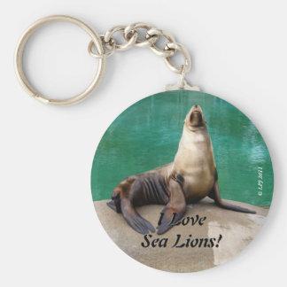 Llavero del león marino