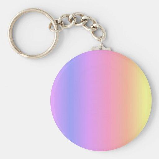 Llavero del llavero del arco iris