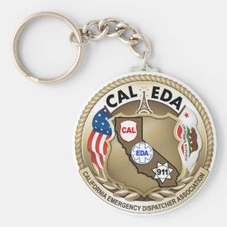 Llavero del logotipo de CAL-EDA (logotipo grande)
