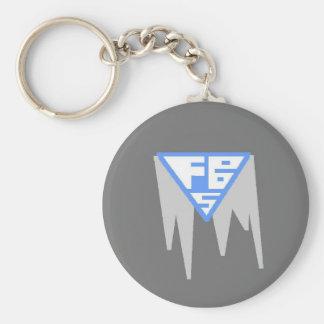 Llavero del logotipo de FBS