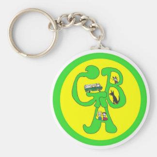 Llavero del logotipo de GBA