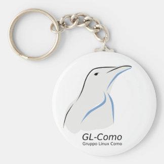 Llavero del logotipo de GL-Como