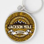 Llavero del logotipo de Jackson Hole