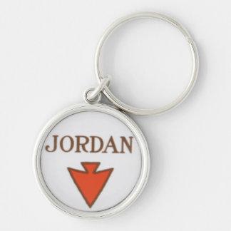 Llavero del logotipo de Jordania