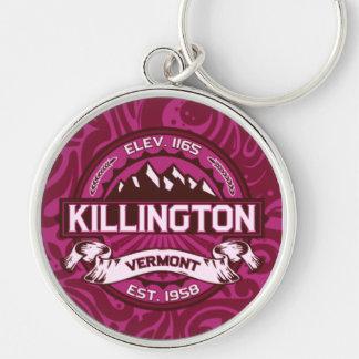 Llavero del logotipo de Killington
