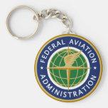 Llavero del logotipo de la Administración Federal