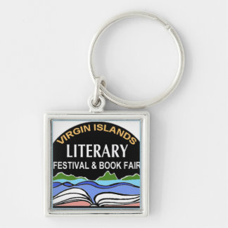 Llavero del logotipo de la feria de libro