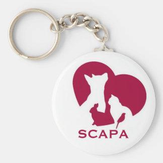 Llavero del logotipo de SCAPA