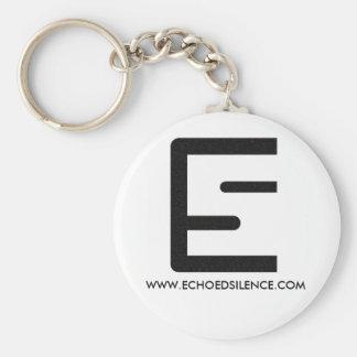 Llavero del logotipo del ES
