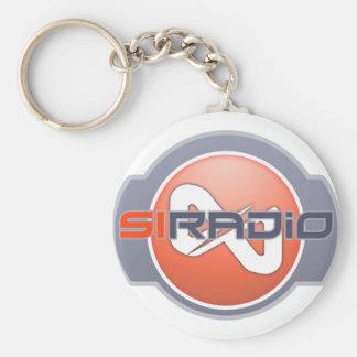 Llavero del logotipo del SI