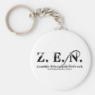 llavero del logotipo del zen