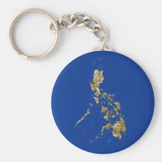 Llavero del mapa de Filipinas