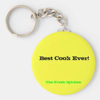 """Llavero del """"mejor cocinero nunca"""""""