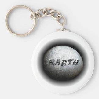 Llavero del modelo de tierra del planeta