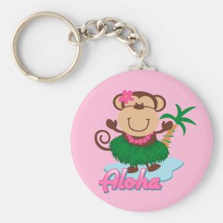 Llavero del mono de la hawaiana
