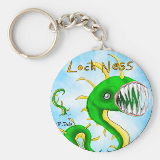 Llavero del monstruo de Loch Ness
