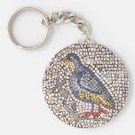 Llavero del mosaico del pájaro de Kos