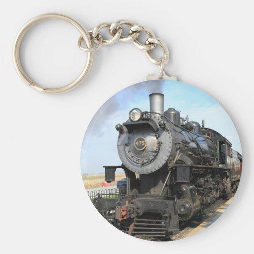 Llavero del motor de vapor de Strasburg