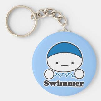 Llavero del nadador