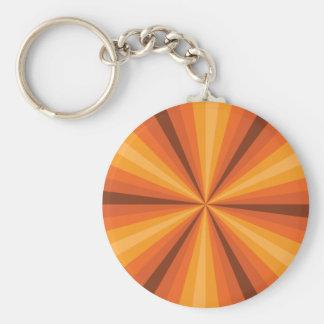 Llavero del naranja de la ilusión óptica