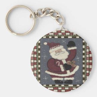 Llavero del navidad de Polo Norte Santa