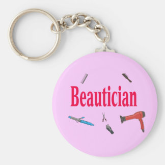 Llavero del negocio del Beautician