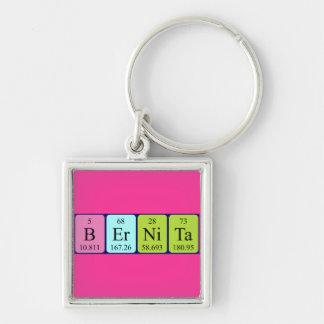 Llavero del nombre de la tabla periódica de Bernit