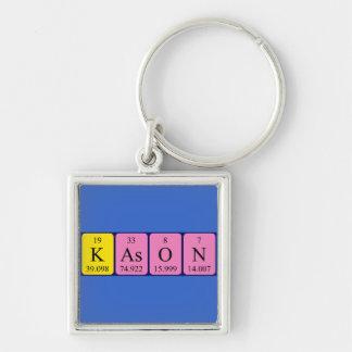Llavero del nombre de la tabla periódica de Kason