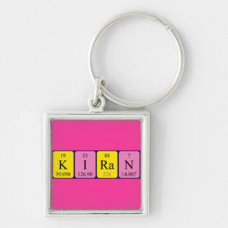 Llavero del nombre de la tabla periódica de Kiran