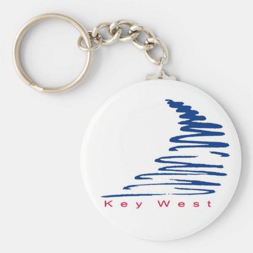 Llavero del oeste Squiggly de Lines_Key