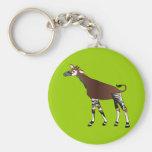 Llavero del Okapi