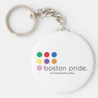 Llavero del orgullo de Boston