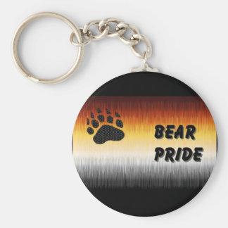 Llavero del orgullo del oso