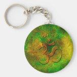 Llavero del oro verde de Namaste