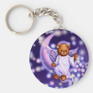 Llavero del oso del ángel