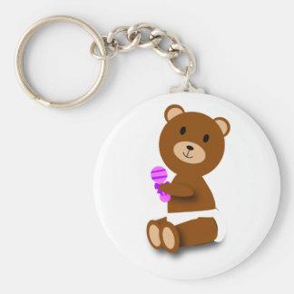 llavero del oso del bebé