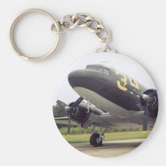 Llavero del pájaro de C-47 DC-3 Gooney