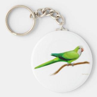 Llavero del Parakeet del monje del Quaker