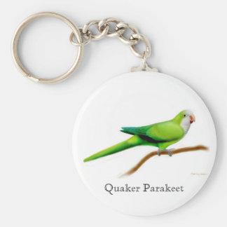 Llavero del Parakeet del Quaker